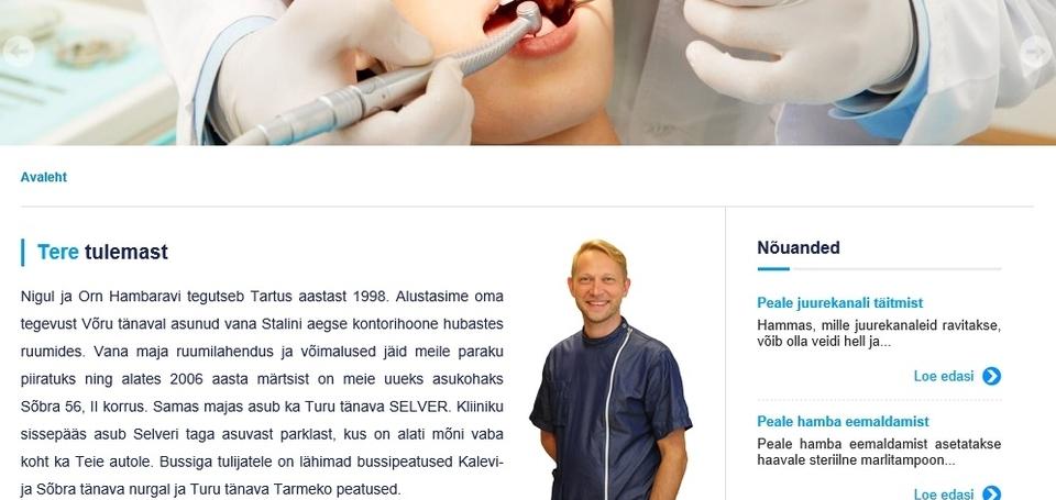 Nigul ja Orn Hambaravi company website