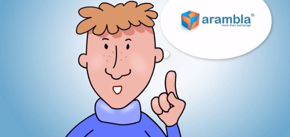 Arambla marketplace cartoon