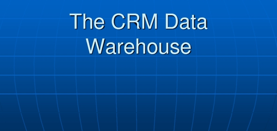Direct sales warehouse software CRM