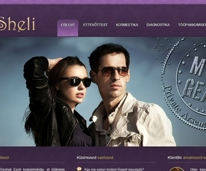 Desheli Estonia company website
